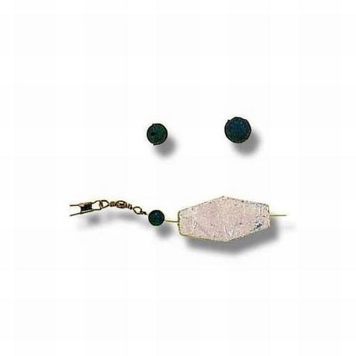 Zebco gummi kralen 8 mm (10 stuks)