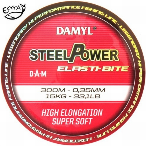 Damyl Steelpower elast-bite 0,22 tot 0,45 mm 300 meter