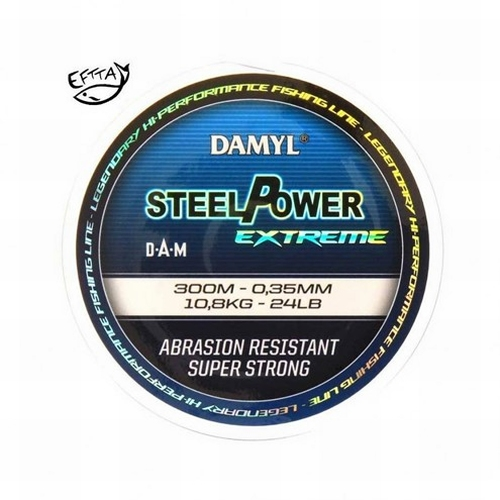 Damyl Steelpower Extreme 300 meter 0,35 mm