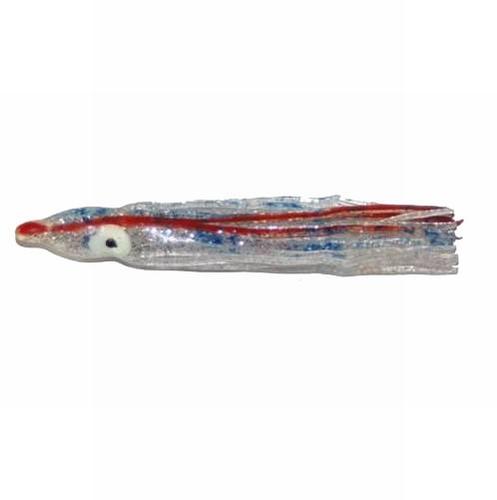 Arca Octopus 7 cm silver/blue Voordeelpak  (25 stuks)