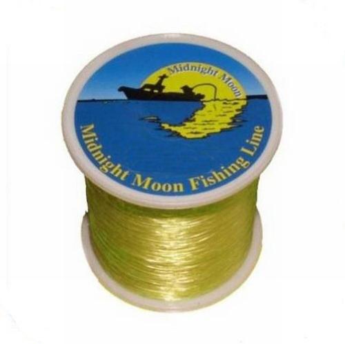 M.M. Nylon Fluo geel  Bulkspoel ( 1 kilo)
